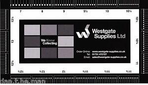 El-Westgate-suministros-Sello-Perforaciones-Calibre-Guia-medida-de-doble-cara