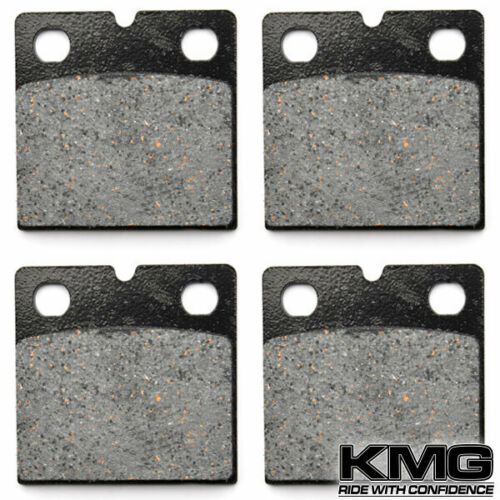 Front Organic NAO Brake Pads For 1981-1985 BMW R 65 LS Brembo caliper