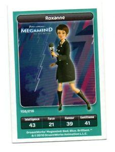 Cartolina-Carrefour-Dreamworks-n-158-216-ROXANNE-Megamind