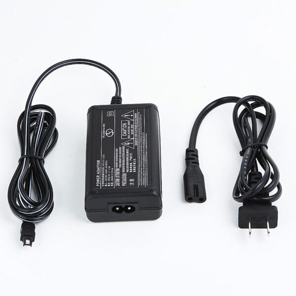AC/DC Battery Power Charger Adapter for Sony Camcorder DCR-HC40 E DCR-HC54 E