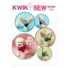 KWIK SEW SEWING PATTERN KERSTIN MARTENSSON CRAFT DOG CLOTHES DRESS XS- XL  K4152