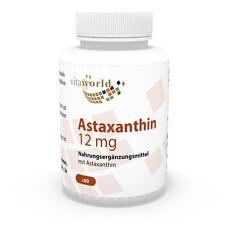Vita World Astaxanthin 12mg 60 Vegi Kapseln Haematococcus pluvialis Antioxidant