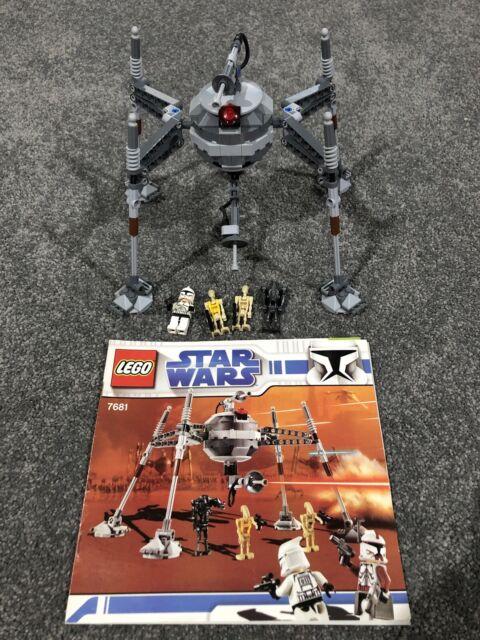 Lego Star Wars 7681 Separatist Spider Droid Complete!