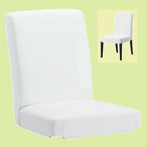 Ikea Henriksdal Dining Chair Cover New Gobo Heavy Cotton Canvas