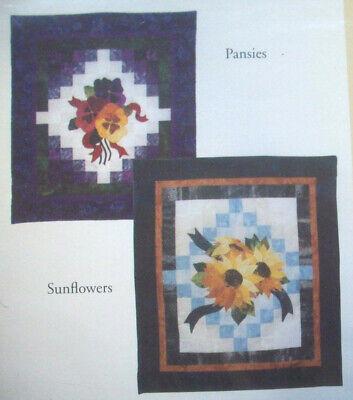Summer Sunflowers Quilt Pattern Pieced//Applique JW