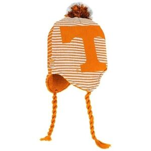 quality design d754c 4ca22 Image is loading Tennessee-Volunteers-knit-tassel-winter-hat-Adidas-NWT-