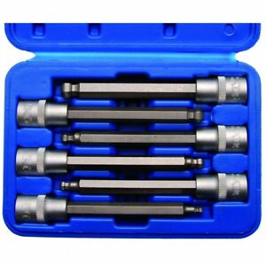 12,5 1//2 Bit-Einsatz 16 mm Innen-6-Kant