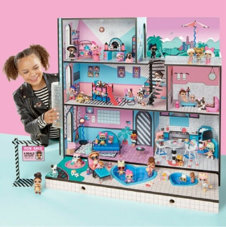 L.O.L. Surprise  House LOL Dolls Huge Brand New 85+ Accesories Play Toy Mansion