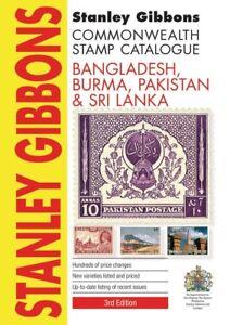 STANLEY-GIBBONS-STAMP-CATALOGUE-BANGLADESH-BURMA-PAKISTAN-amp-SRI-LANKA-3rd-ed