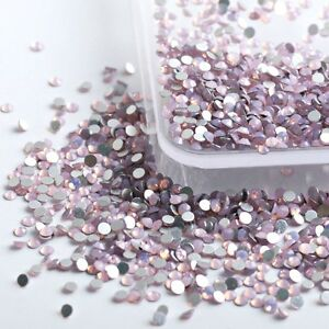 PINK-OPAL-Swarovski-Crystals-flat-back-rhinestone-gems-strass-no-hotfix-30-piece