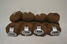 """14+ Balls SMC Tweed Deluxe yarn, 14 sts=4"""", 87 yds.ea., Alpaca Blend"""