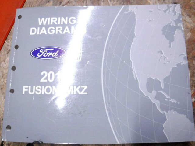 2013 Lincoln Mkz Ford Fusion Original Factory Wiring