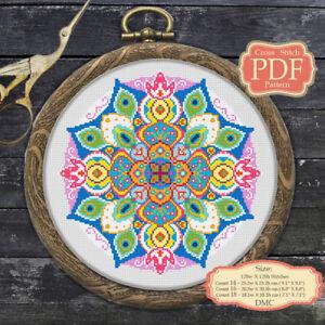 Mandala-Modern-Cross-stitch-PDF-Pattern-040