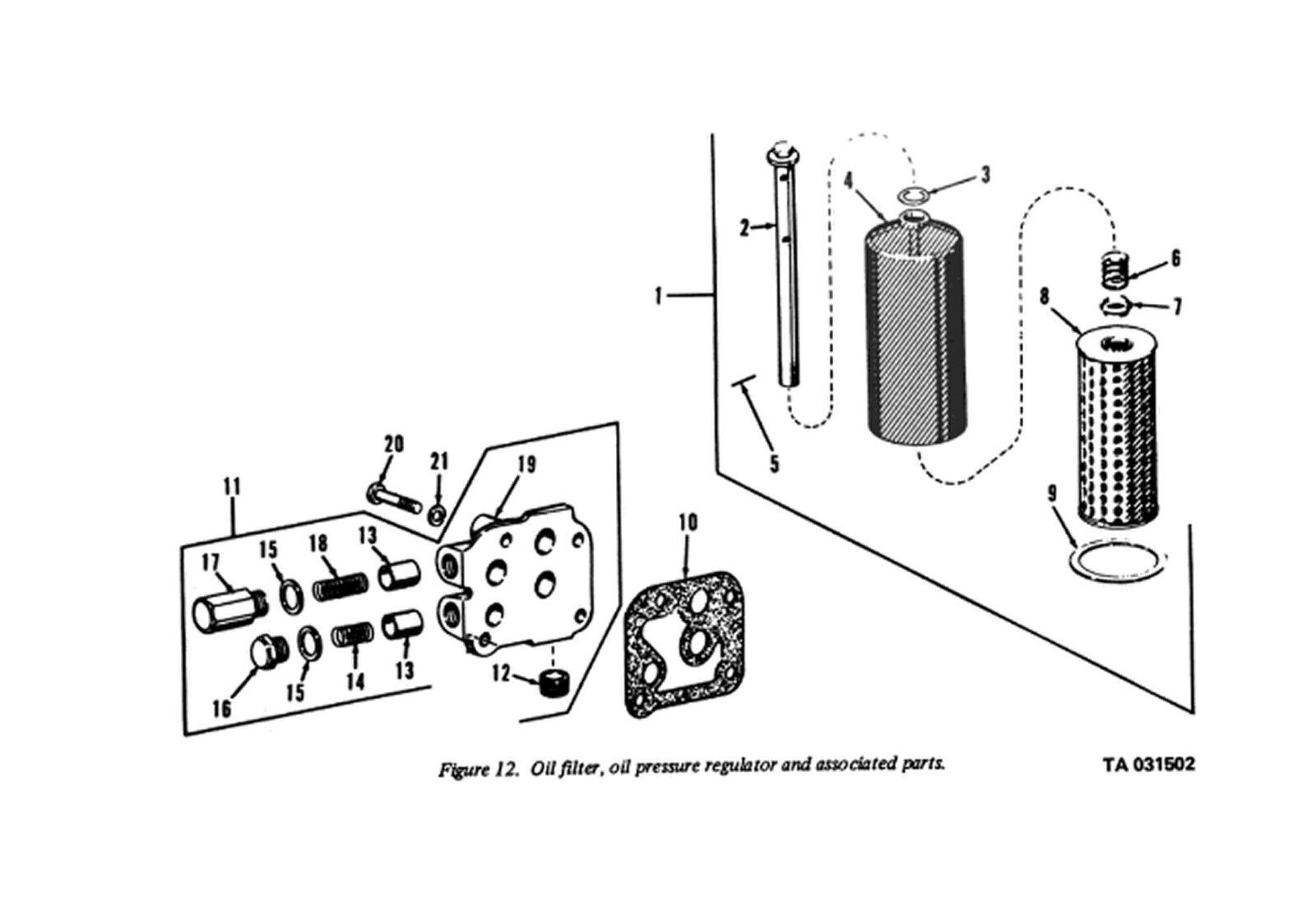 M35a2 Oil Filter Diagram Car Wiring Diagrams Explained Harness 2940 00 194 2497 And Housing For M54a2 Hercules Rh Ebay Com