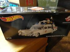 Hot Wheels 1:18 Scale Ghostbusters Ecto-1 Ambulance