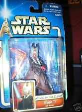 STAR WARS AOTC FIRST RELEASE SHAAK TI MINT ON CARD