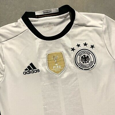 Adidas Germany Soccer Jersey FIFA World Champions 2014 Deutscher Youth Large   eBay
