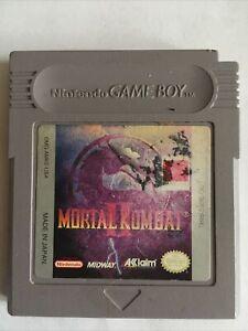 Mortal Kombat 2 II (Nintendo Gameboy, 1994) Original Gameboy Authentic TESTED