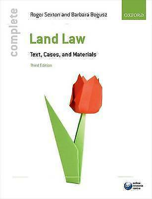 Complete Land Law: Text, Cases, and Materials-ExLibrary
