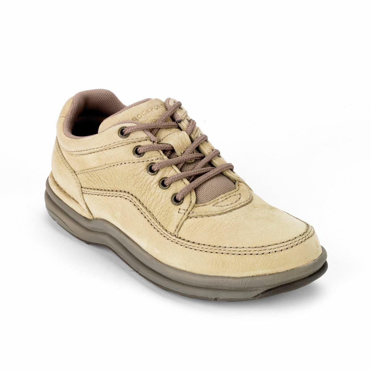 Rockport clásica para hombre Arena Nubuck Comodidad Zapatos K70883
