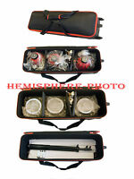 3x Redhead 800w Red Head 4.8m + Stands + Bags + 3 DXX lamps bulbs