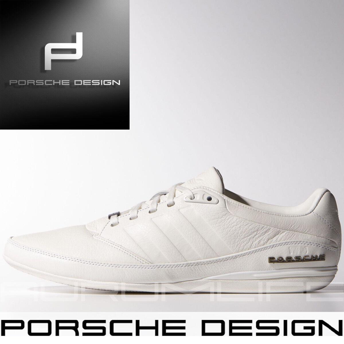 Adidas Porsche Design Drive TYP 64 2.0 White Shoes Bounce Mens Leather M20587