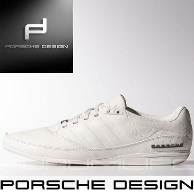 Adidas Mens Shoes Porsche Design Drive Type 64 2.0 White Bounce Leather M20587 | eBay