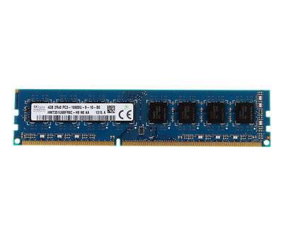 Lot New For SK Hynix 2Rx8 4GB 1333MHz DDR3 PC3-10600U 240pin DIMM Desktop Memory