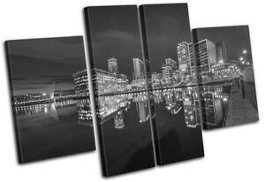 Manchester-Riverside-Salford-Quays-City-MULTI-CANVAS-WALL-ART-Picture-Print