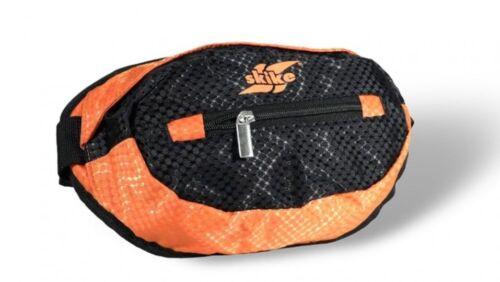 skike Bauchtasche Gürteltasche Hüfttasche Umschnall Tasche schwarz orange neu
