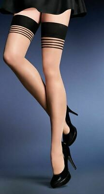Hold-ups GALA 20 den  Patterned by Gabriella  New