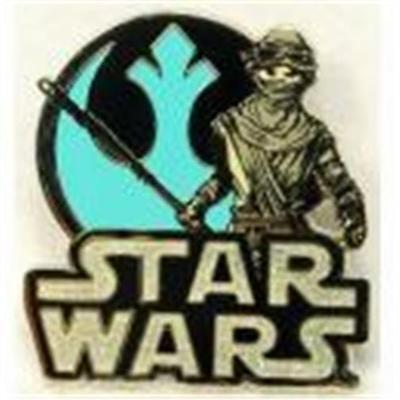 STAR WARS THE FORCE AWAKENS REY REBEL ALLIANCE Disney PIN 111121