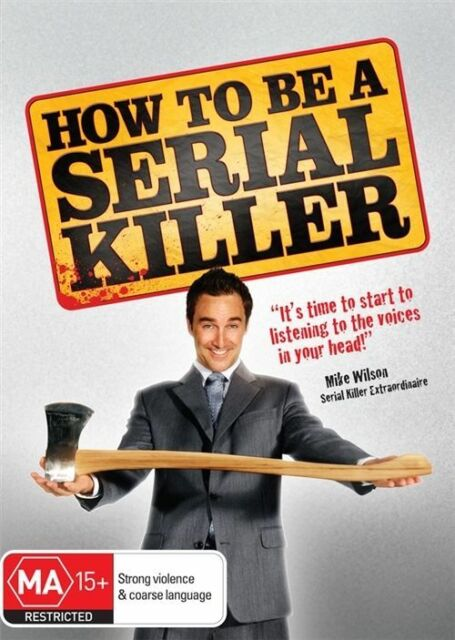 How To Be A Serial Killer (DVD, 2011) Region 4 (VG Condition)