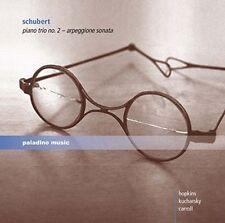 """SCHUBERT: PIANO TRIO NO. 2 """"ARPEGGIONE SONATA"""" NEW CD"""
