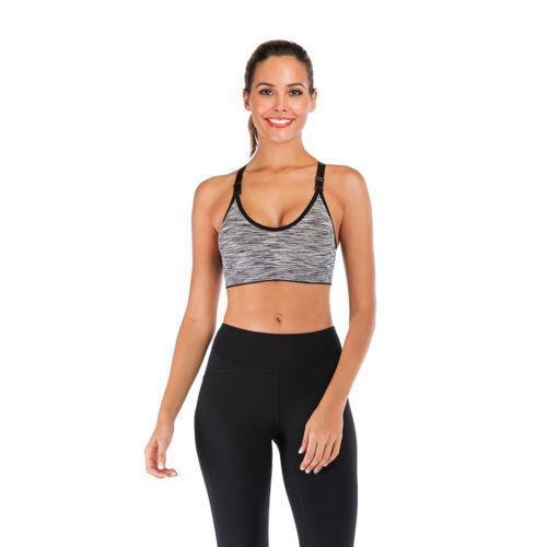 Comfort Seamless Sports Bra Support Wireless Bra Breathable Vest Gym Yoga Women