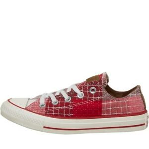 Pepper Star Trainers Bnib chili Size Andorra burg 3 Patchwork Converse Ct Ox All UqOOEP