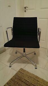 vitra ea 107 designer stuhl by charles eames alu chair. Black Bedroom Furniture Sets. Home Design Ideas