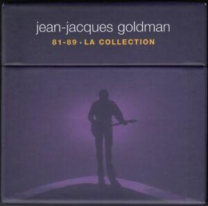 Jean-Jacques-Goldman-Coffret-6xCD-81-89-La-Collection-Europe-M-M-Scelle