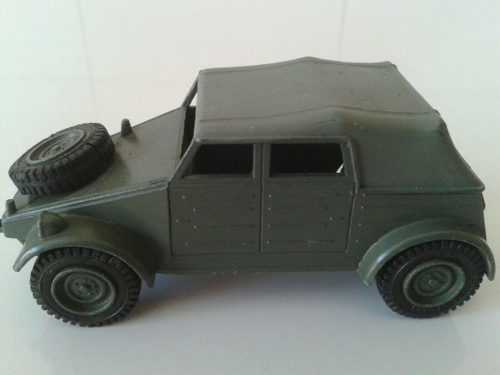 Dinky Toys Nr. 617 Volkswagen Kdf und 50mm Kanone  Meccano 1974 RAR SELTEN