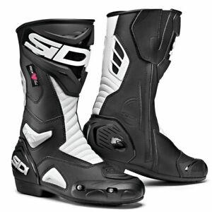 Sidi-Performer-CE-Moto-Motorcycle-Bike-Ladies-Boots-Black-White