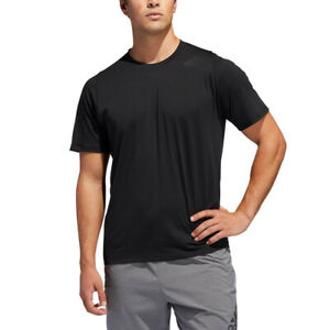 Adidas-Homme-freelift-Sport-Premier-Lite-T-Shirt-Tee-Top-Noir-Sport-Gym