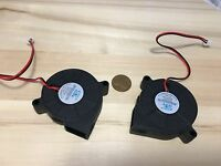 2 Pieces Dc 24v Brushless Cooling Exhaust Blower Fan 50mm 50x50x15mm 5015s B3