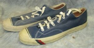 07dc47a38ff Pro Keds Mens Size 17 M Canvas Sneakers Dark Blue Low Top Athletic ...