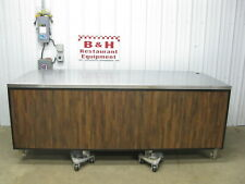 Amtekco 8 Stainless Steel Cabinet Table Grocery Deli Counter 96 X 41