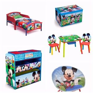 Image Is Loading Mickey Mouse Toddler Bedroom Furniture Set 5 Piece