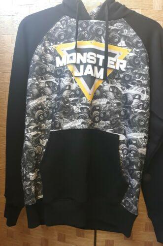 Rare Monster Jam Monster Truck Hoodie Sweatshirt S