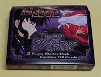 Inuyasha Feudal Warfare 2 Player Starter Deck Score Trading Card Game Tcg