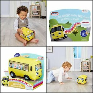 Little-Tikes-Little-Baby-Bum-Wigglin-039-Wheels-On-The-Bus-Official-Plush-Toy-New