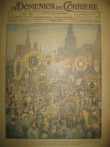 RUSSIE-MOSCOU-PROCESSION-RELIGIEUSE-CANADA-LOUPS-LA-DOMENICA-DEL-CORRIERE-1921
