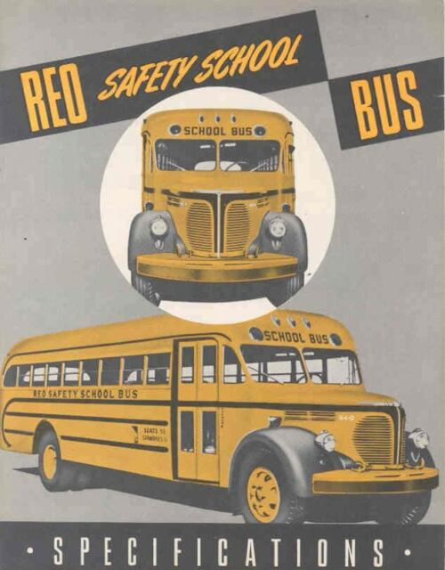 1948 Reo School Bus Sales Brochure wj7339-7FJSPK
